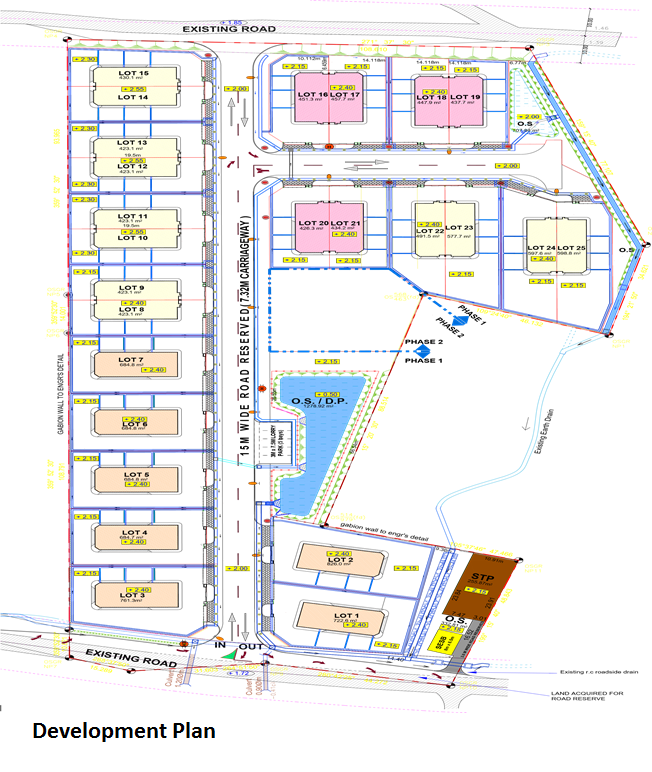 BDC Industrial Site Plan